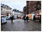 Markt am Domplatz...(und eine ware Geschichte)
