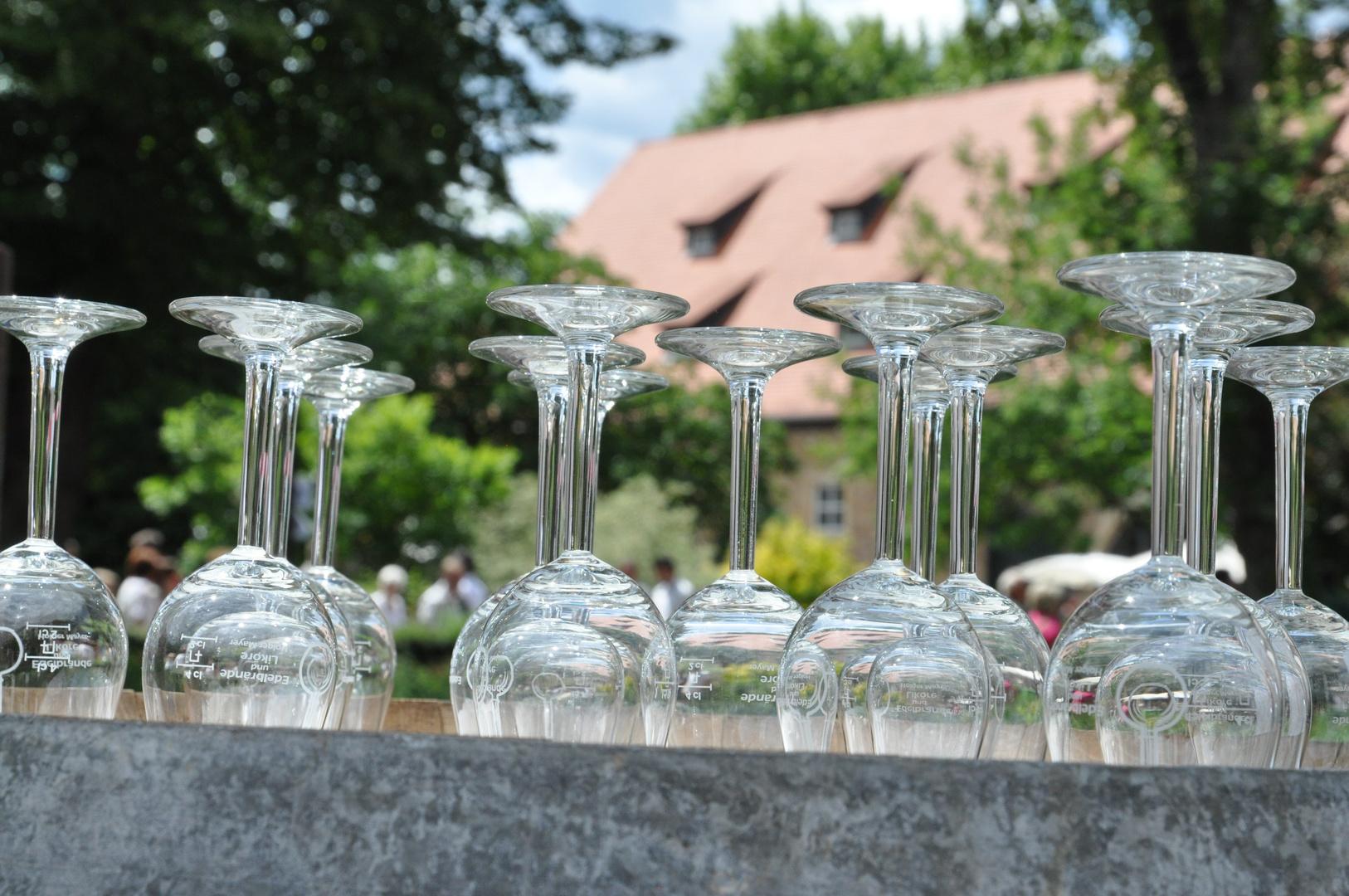 Markt der Genüsse, Mussbach ....ohne woi geht garnix