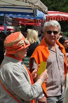 Markt der Genüsse, Mussbach ...Schatz, wir gehen heute im Kombi-Outfit