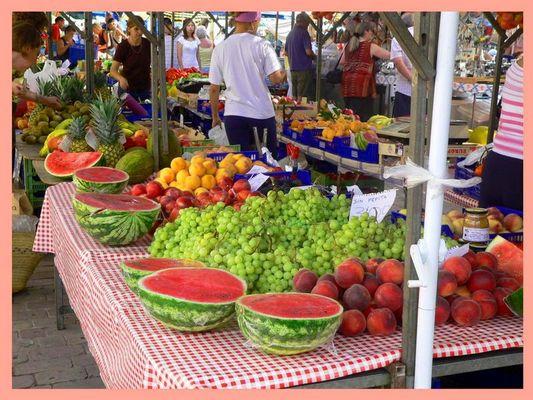 Markt in Alcudia.....