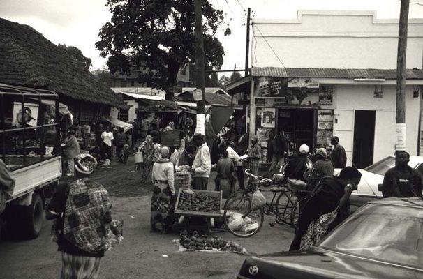 Markt in Arusha, Tanzania