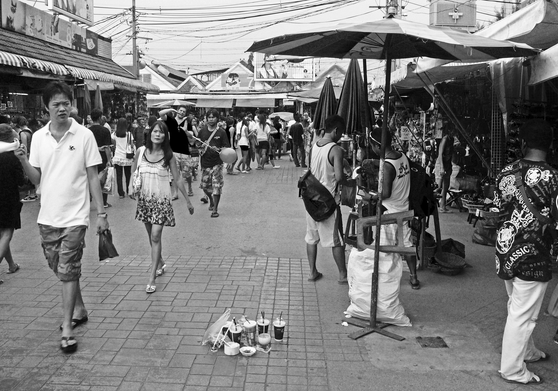Markt in Bangkok