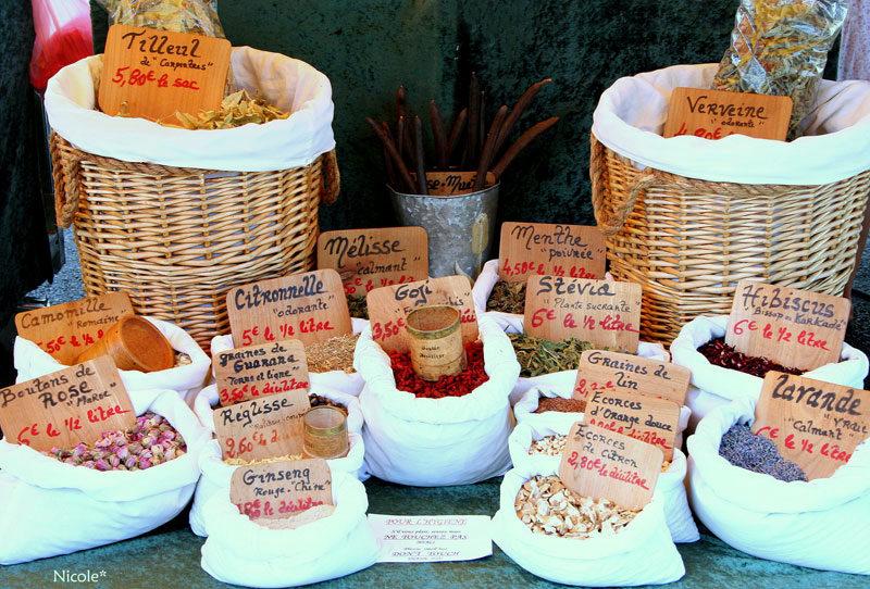 Markt in Brive-la-Gaillarde