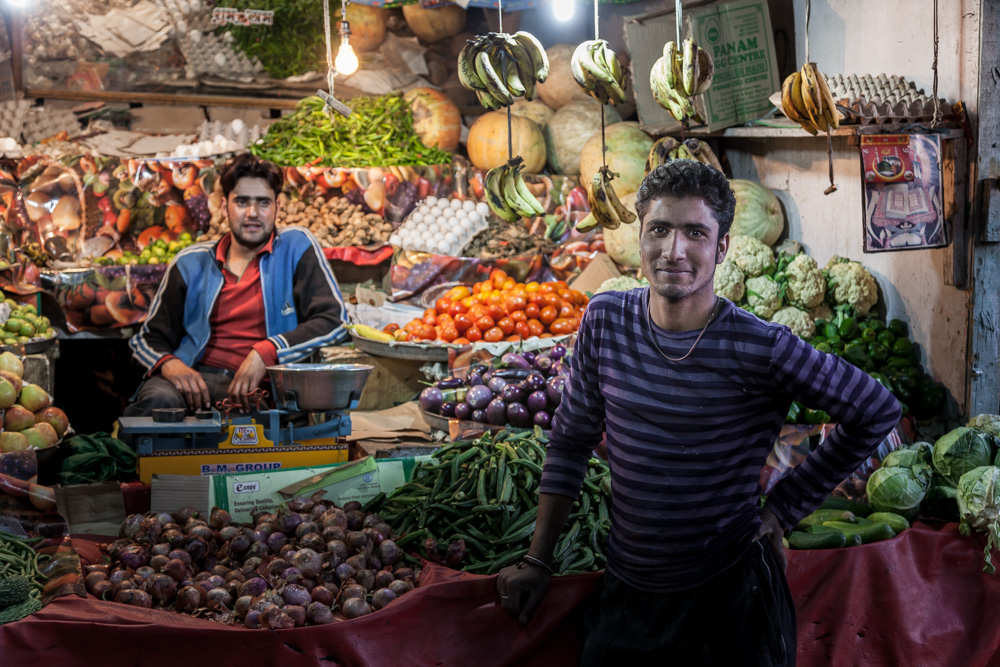 Markt in Leh