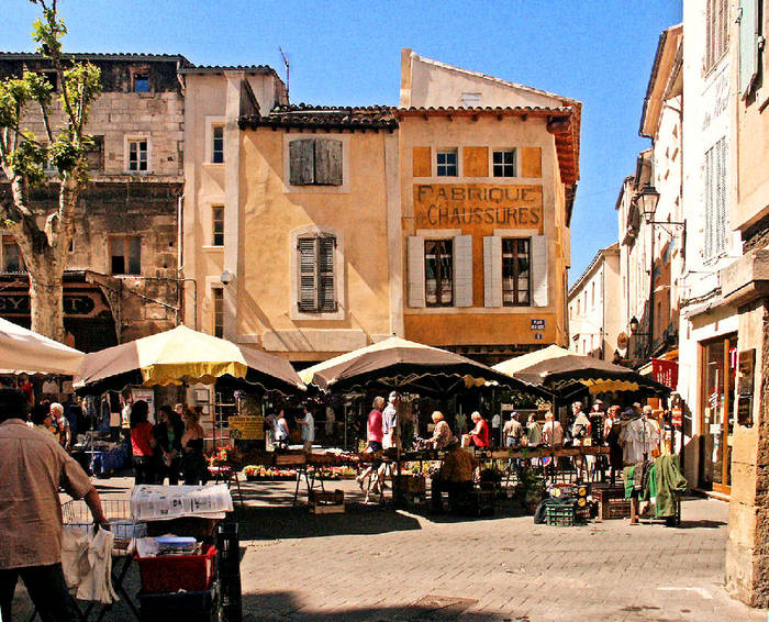 Markt in l'Isle-sur-la-Sorgue