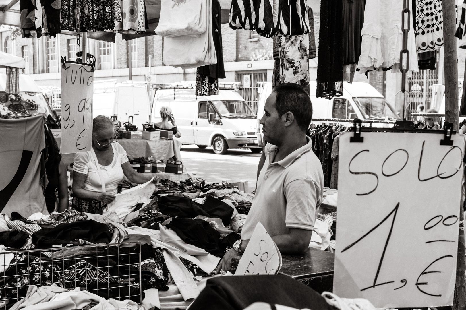 Markt in Mailand