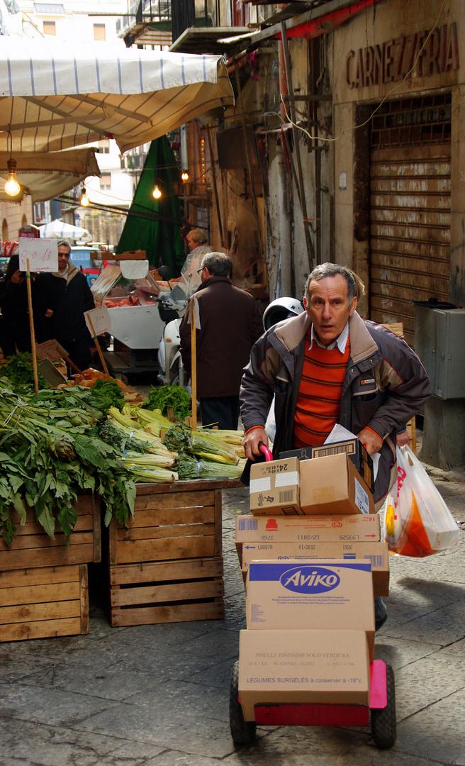Markt in Palermo I