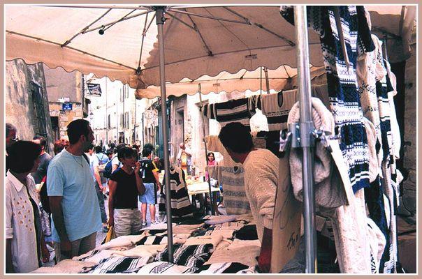 Markt in Uzés