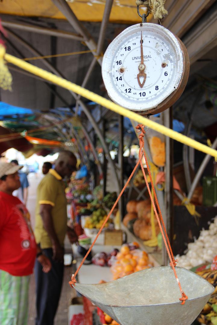 markt in willemstadt, aruba