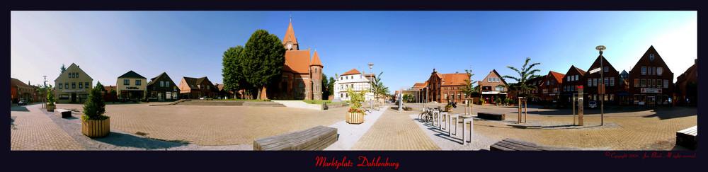 ``Markt platz Dahlenburg  in 360° Foto´´