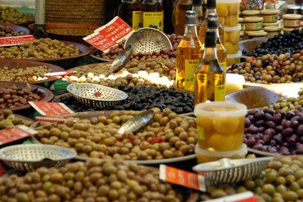 Markt von St. Tropez