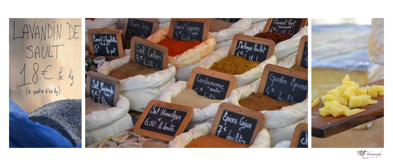 Marktbesuch in der Provence