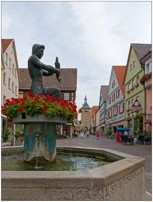 Marktbrunnen in Marbach