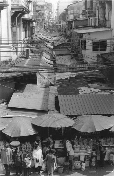 Marktdach in Bangkok