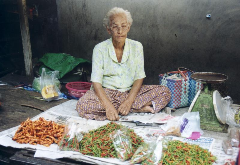 Marktfrau auf Phuket