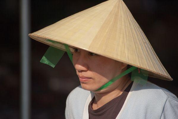 Marktfrau in Hoi An