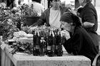Marktfrau in Kroatien