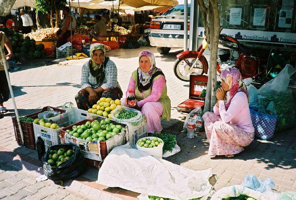 Marktfrauen in Alanya