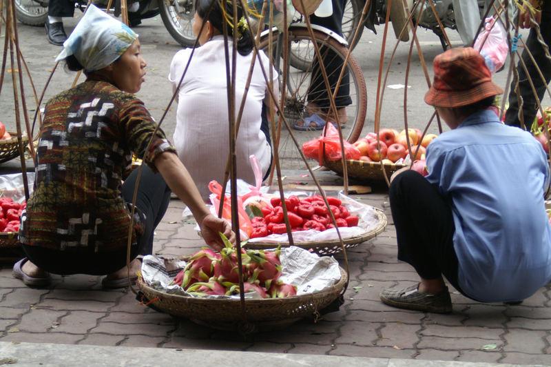 Marktfrauen in Vietnam