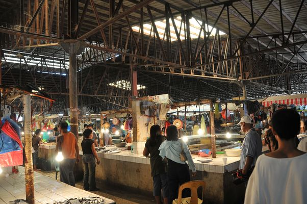 Markthalle auf den Philippinen