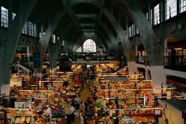 Markthalle in Bresslau