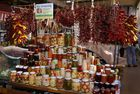 Markthalle in Ungarn