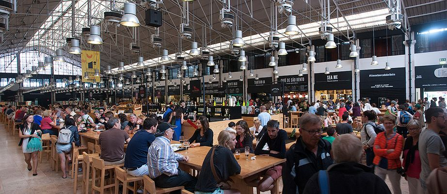Markthalle Lissabon: Time Out Mercado da Ribeira