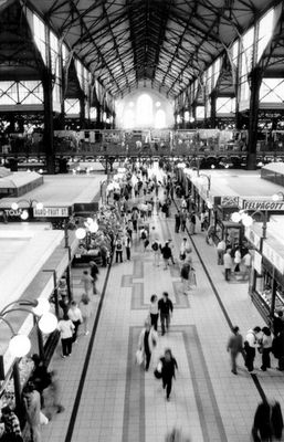 markthalle of budapest