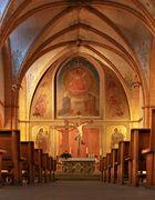 Marktkirche Sankt Gangolf in Trier an der Mosel