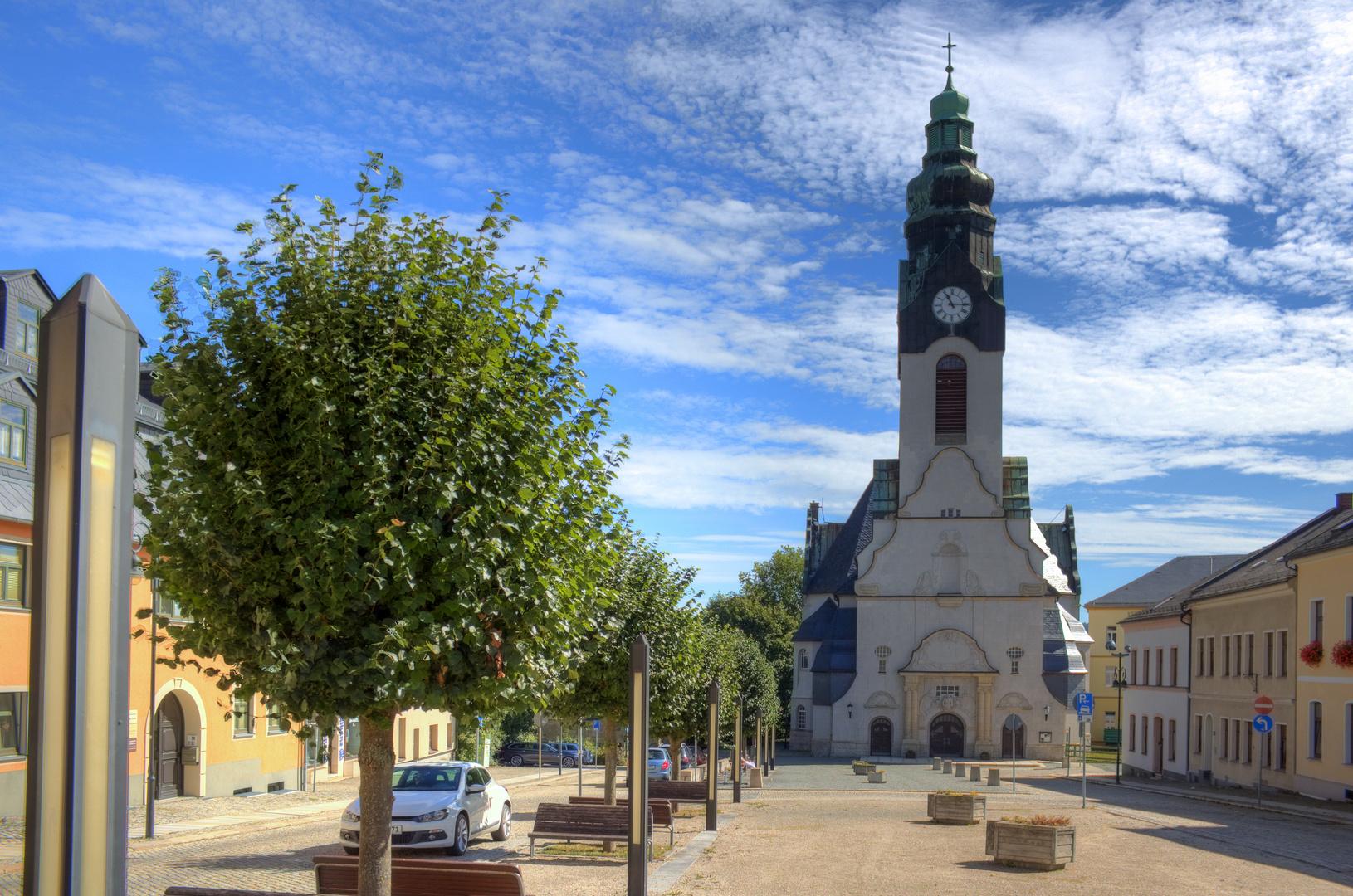 Marktplatz Adorf/Vogtl