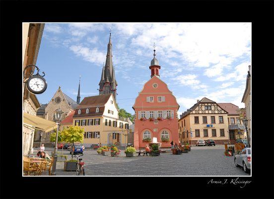 Marktplatz Gau-Algesheim