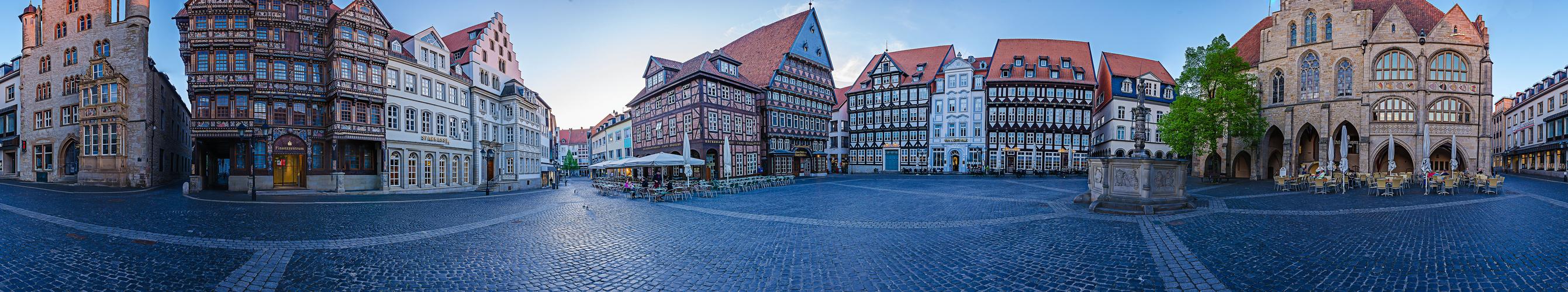 Marktplatz Hildesheim 360°