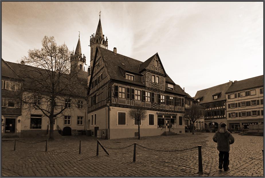Marktplatz in Ladenburg (2)