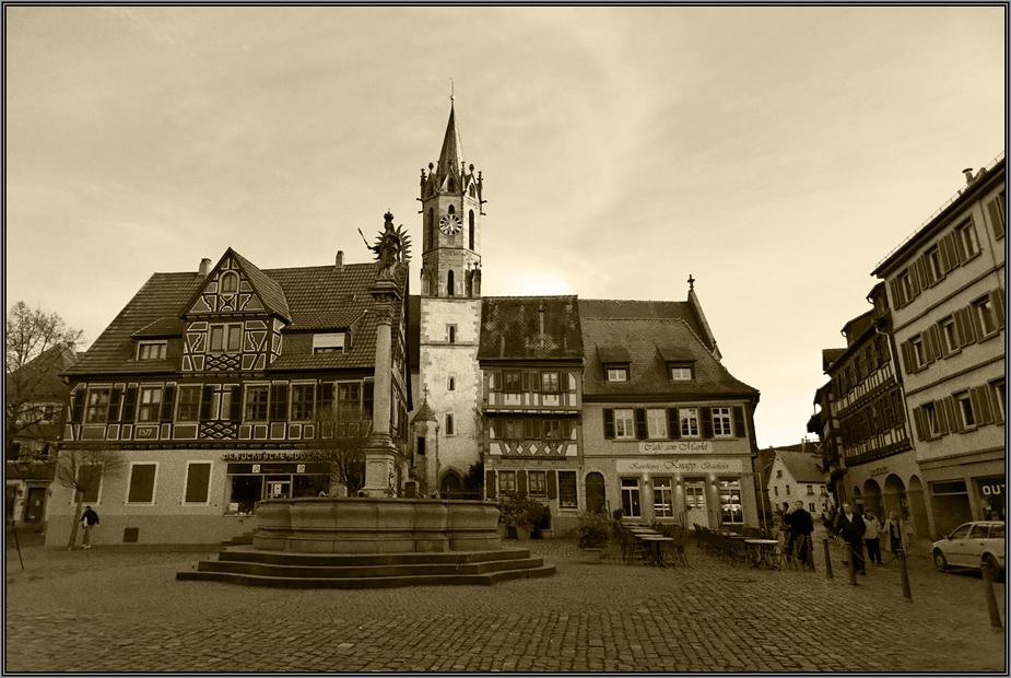 Marktplatz in Ladenburg