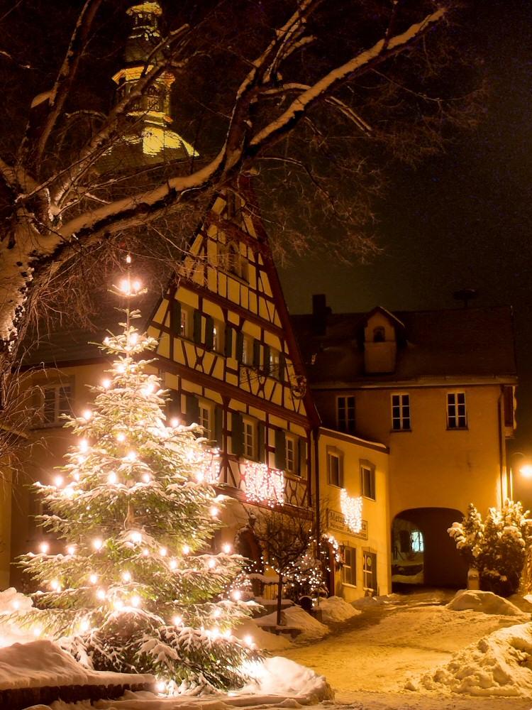Marktplatz in Lonnerstadt