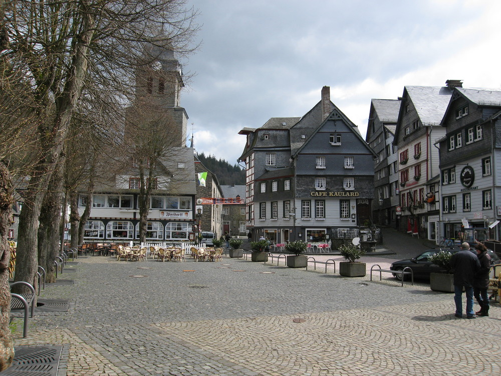 Marktplatz in Monschau