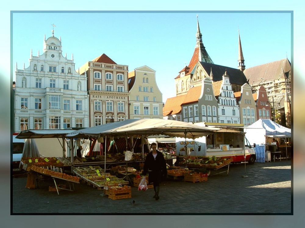 Marktplatz in Rostock