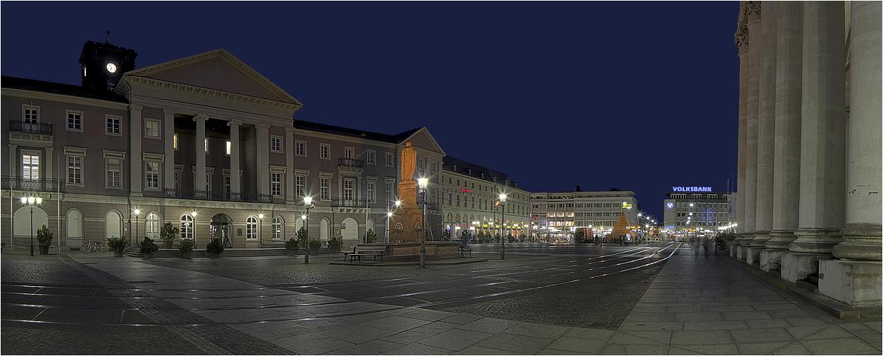 Marktplatz karlsruhe i foto bild architektur - Architektur karlsruhe ...
