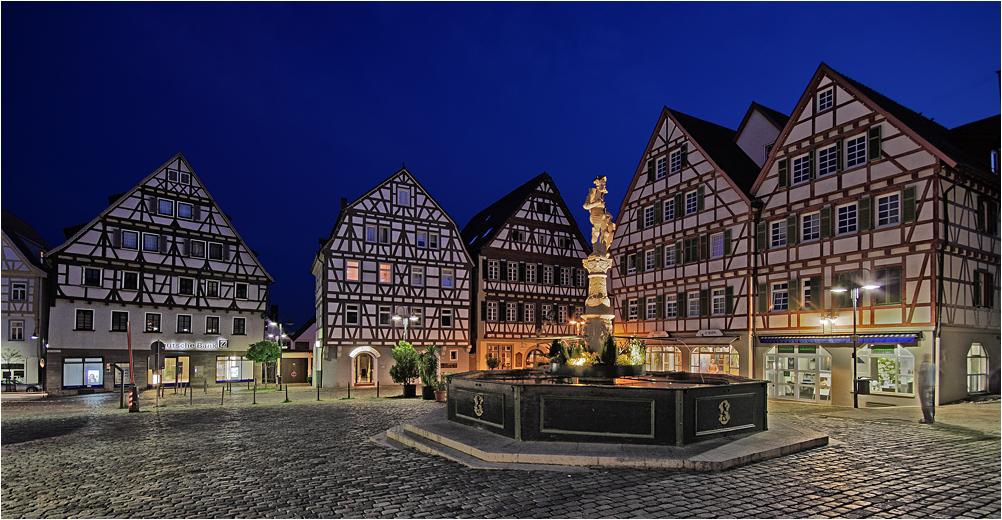 Marktplatz Leonberg (VI)