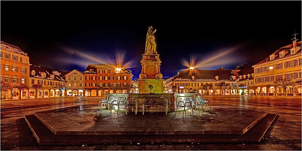 marktplatz ludwigsburg iv foto bild architektur architektur bei nacht ludwigsburg bilder. Black Bedroom Furniture Sets. Home Design Ideas
