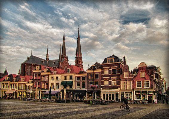 Marktplatz von Delft