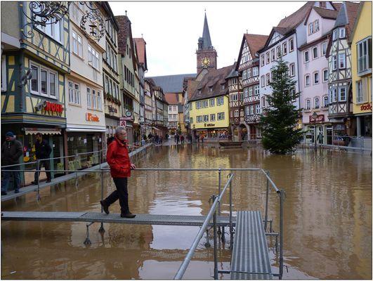 Marktplatz Wertheim, heute