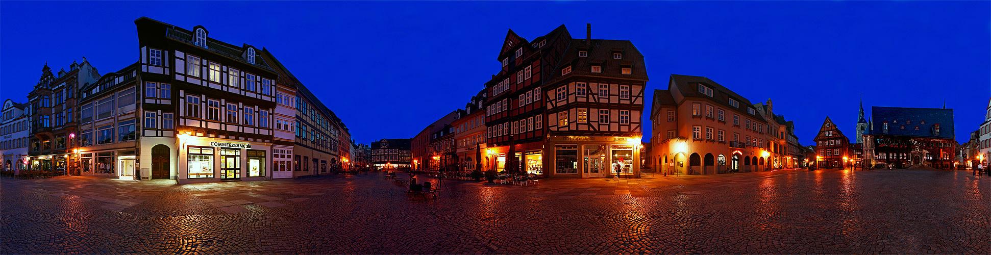 Marktplatz zu Quedlinburg
