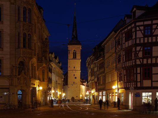 Marktstraße Altstadt Erfurt