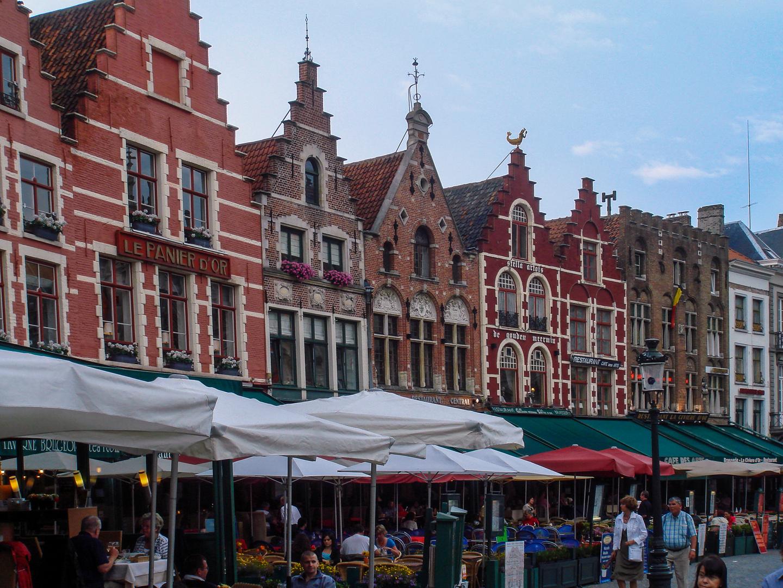 Markttag - Brügge/Belgien
