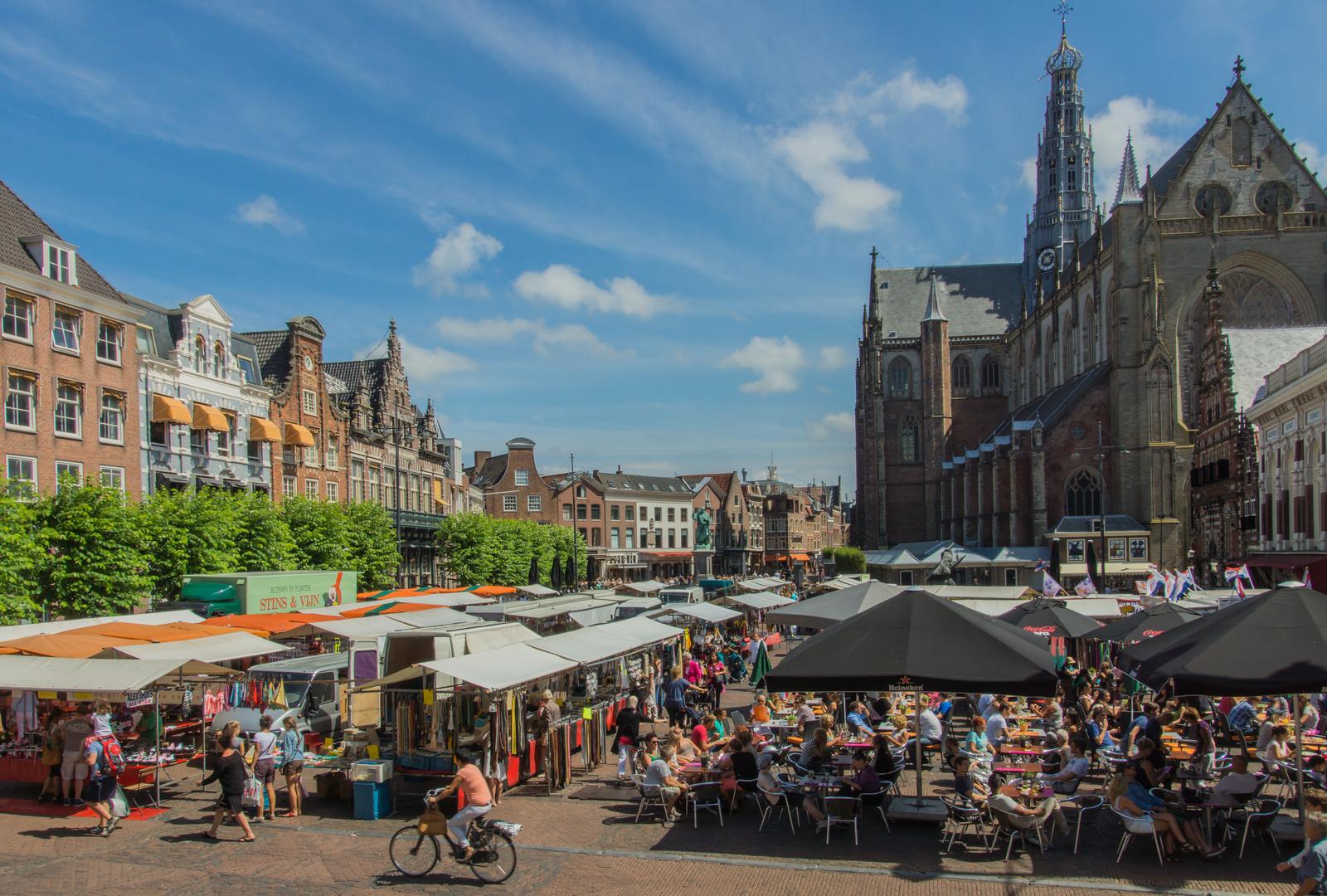 Markttag - Haarlem/Niederlande