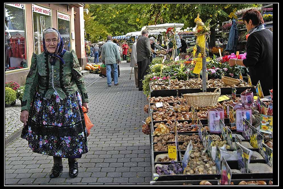 Markttag in Forchheim