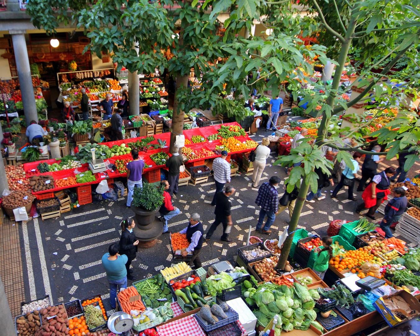 Markttag in Funchal