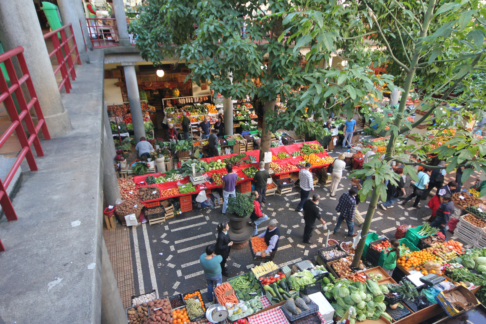 Markttag in Funchal (Madeira)