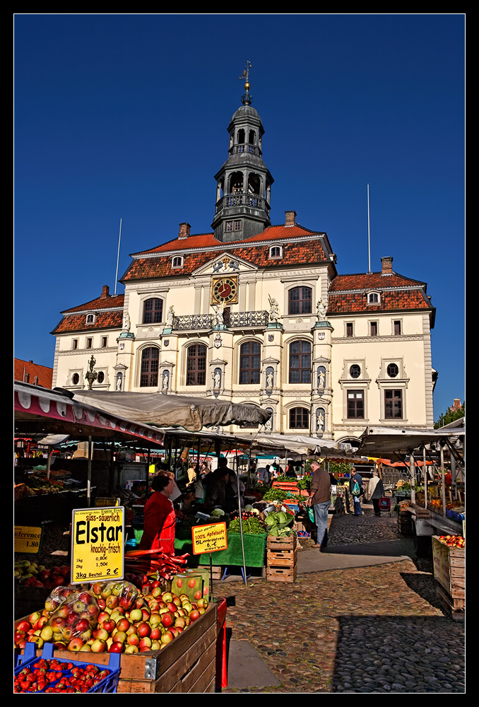 Markttag in Lüneburg